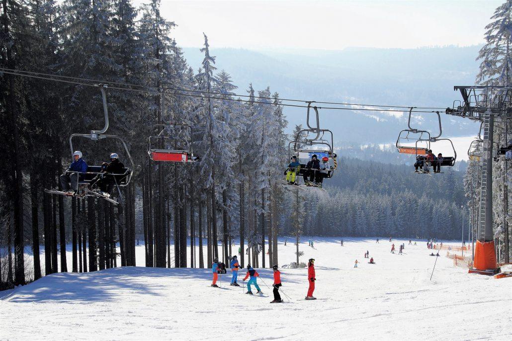 Skifahren am Tegernsee - Spitzingsee