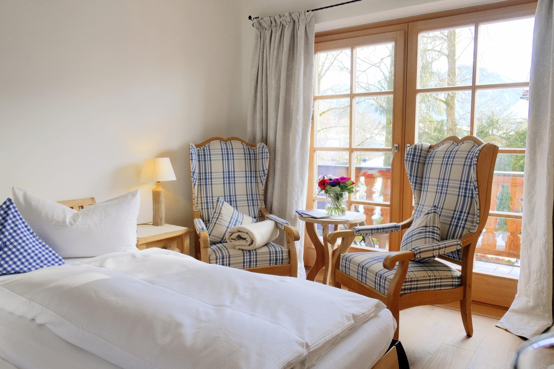 Small hotel room