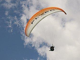 Erlebnistage paraglider tandemflug