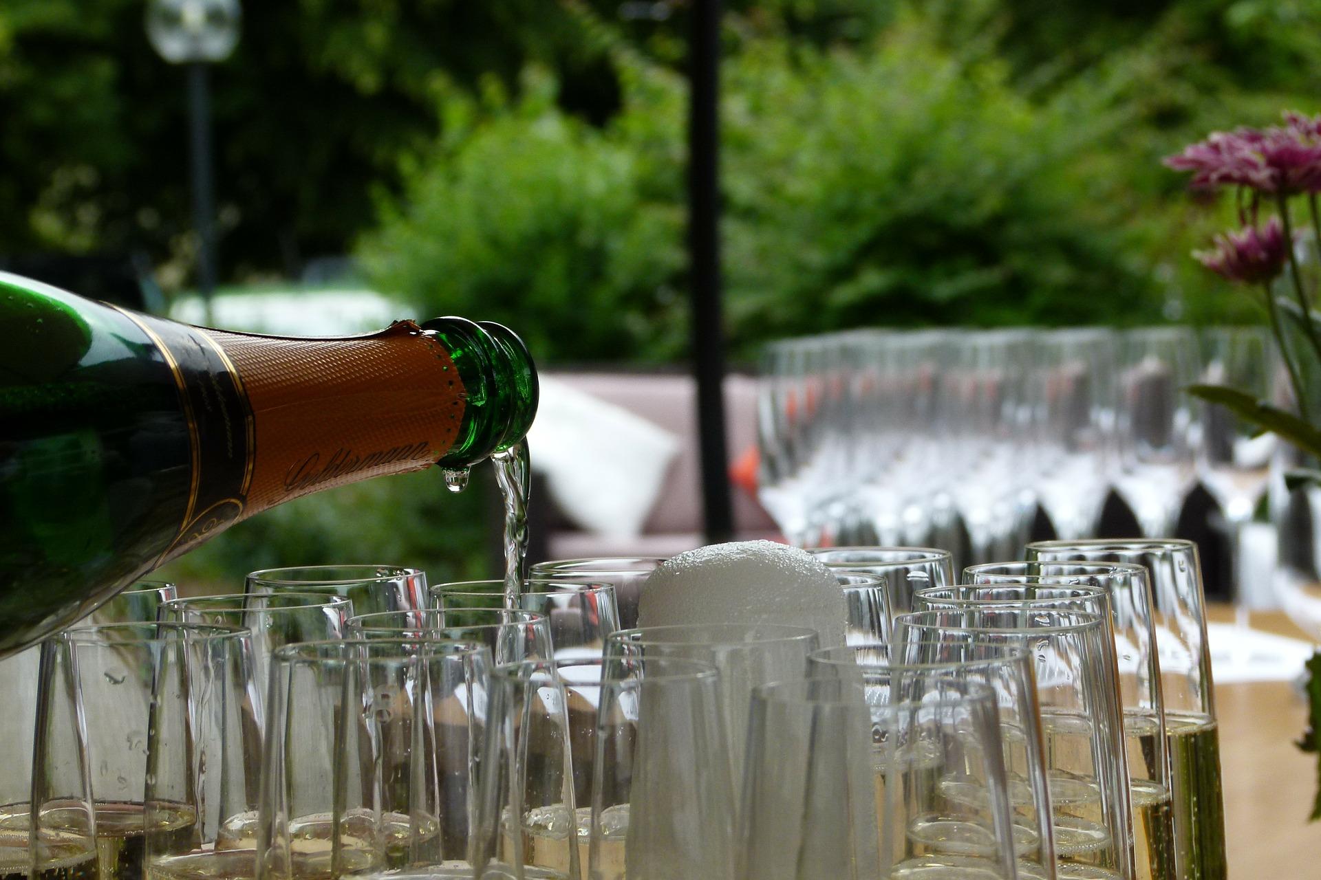 Weinfest in der Kuranlage