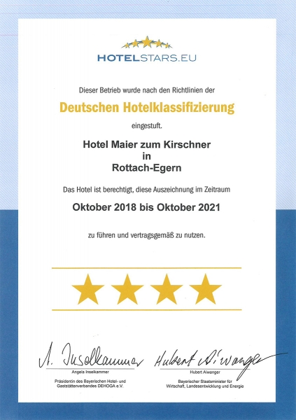HotelStars Maier zum Kirschner