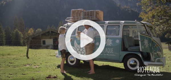 BIOTEAQUE Chiemgauer Teemanufaktur Video